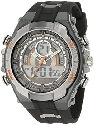 Armitron Sport Men's 204589ORGY Watch with Black Band from Armitron Sport