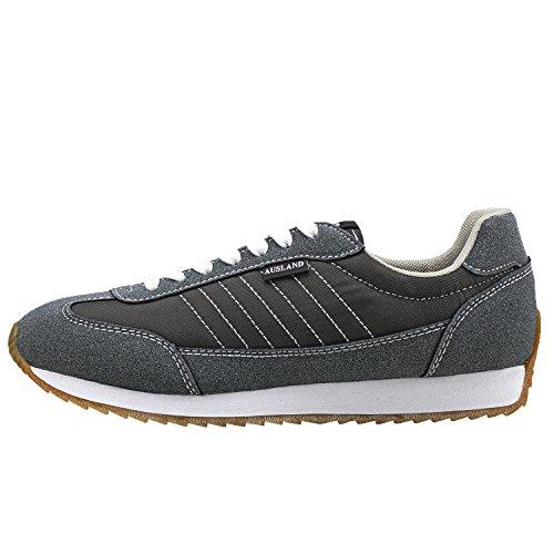 Da Grigio E Donna Unisex A Scarpe M7555 Ginnastica Per Adulto Sportive Shenji Collo Basso Uomo Sneaker CtFqw