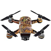 Skin For DJI Spark Mini – Deer Pattern | MightySkins Protective, Durable, and Unique Vinyl Decal wrap cover | Easy To Apply, Remove, and Change Styles | Made in the USA
