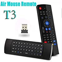LeSunDa T3 Fly Air Mouse 2.4GHz & Wireless Mini Keyboard without Mic Remote Control for Android TV Box Media Player