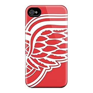 New Style 4/4s Protective Cases Covers/ Iphone Cases - Detroit Red Wings