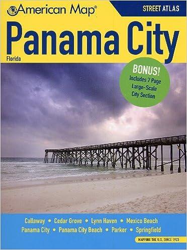 Map Of Panama City Florida.Panama City Fl Atlas American Map American Map 9780841616752