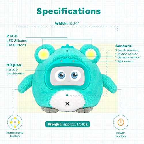 Woobo Lavender Lollipop - Interactive Robot for Curious Kids by Woobo (Image #5)