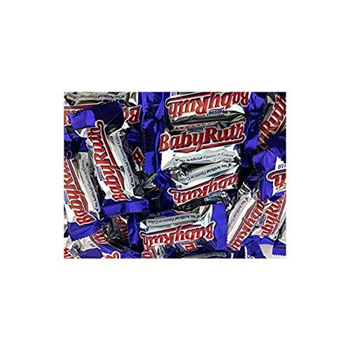 Baby Ruth Fun Size Bars,Small 3 LB Bulk Candy