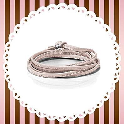 Original Nomination BON BON leather bracelet long (PINK) 065089-006 ... e011d1e4d8af
