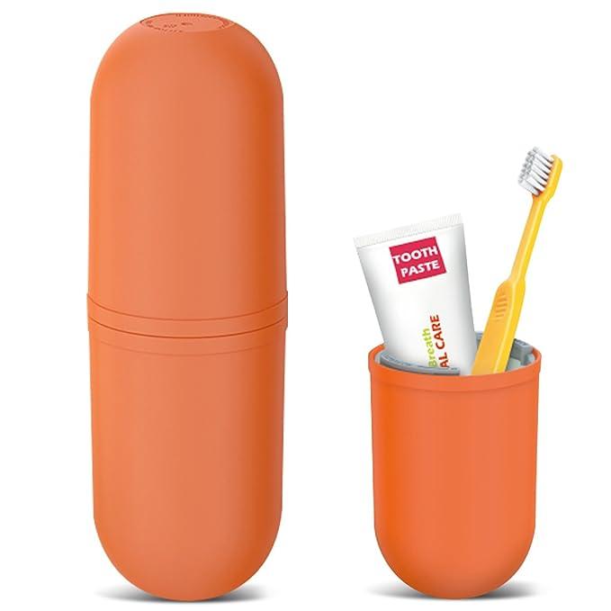 18 opinioni per OCHO8 Set di bicchieri da viaggio, fantasioso porta spazzolino e dentifricio da