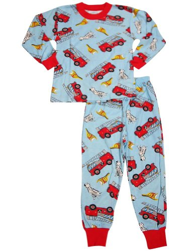 Saras Prints Boys Sleeve Pajamas
