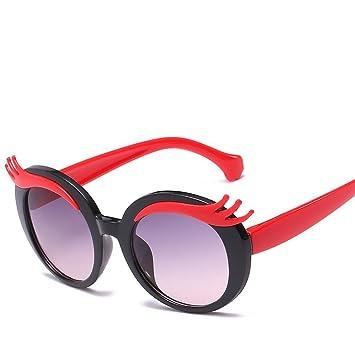Aoligei Las Gafas de Sol Gafas de Sol niños Dibujos Animados ...