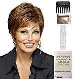 Whisper Wig by Raquel Welch, 15 Page Christy's Wigs Q & A Booklet, 2oz Travel Size Wig Shampoo, Wig Cap & Wide Tooth Comb COLOR SELECTED: R38