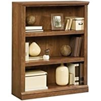 Bowery Hill 3 Shelf Bookcase in Oiled Oak