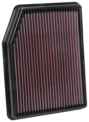 K&N engine air filter, washable and reusable:  2019 Chevy/GMC Truck (Silverado 1500, Sierra 1500) 33-5083