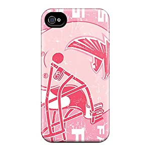 Shock Absorbent Cell-phone Hard Covers For Iphone 6plus (WKj113JAiA) Customized Colorful Atlanta Falcons Pattern