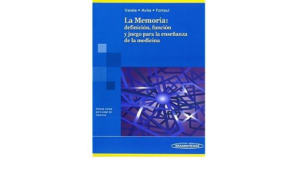 La Memoria: Definicion, Funcion Y Juego Para Ensenanza ...