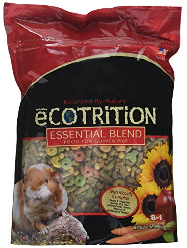 8 In 1 Pet Products Seog2152 Ecotrition Essential Blend Guinea Pig Food, 2-Pound