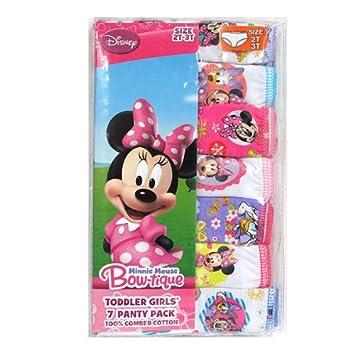 8a35fe5a92be2 Disney ディズニー ミニーマウス 女の子 パンツ ショーツ7枚セット 並行輸入 ...