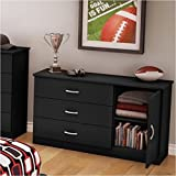 Pemberly Row Dresser in Pure Black