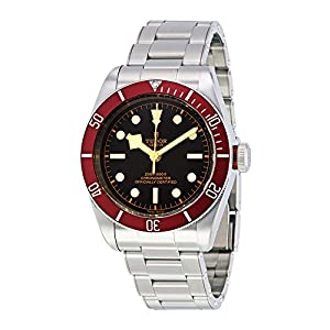 517OQ4 lXnL. SS300  - Tudor Heritage Black Bay Automatic Mens Watch 79230R-BKSS