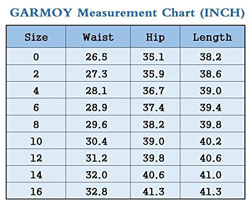 Women's Fashion Light Blue Loose Curvy Bootcut High Waist Straight Fit Jeans 12 by GARMOY (Image #6)