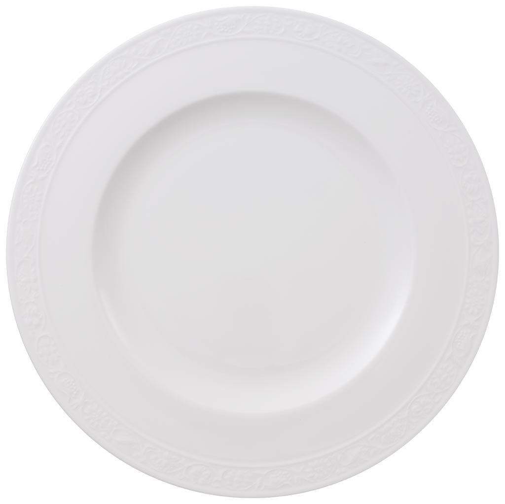 Villeroy & Boch White Pearl Piatto Dessert, 22 cm, Porcellana Bone China, Multicolore, 22.6x22.6x7.6000000000000005 cm 1043892650