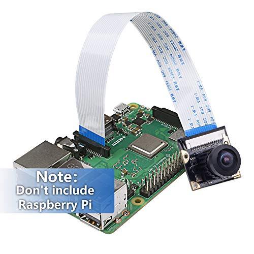 Miuzei Raspberry Pi 3 Camera Module, 5 Megapixels Wide-Angel
