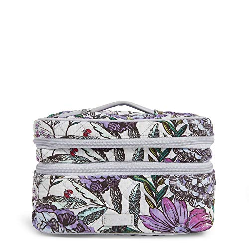 Vera Bradley Iconic Jewelry Train Case, Signature Cotton