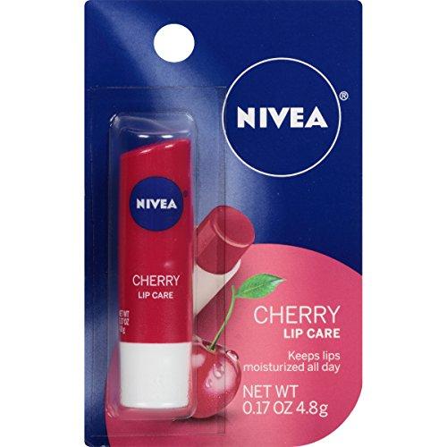 Nivea Lip Care, Cherry, 0.17 Ounce