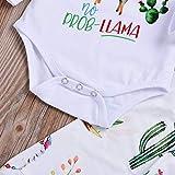 Baby Girls Boys Romper Newborn Alpaca Print