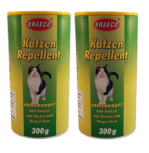 2 x 300g Katzen Repellent, Abwehrduft gegen Katzen, Katzenschreck