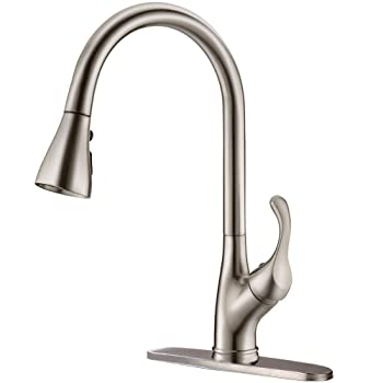APPASO K123-BN High-arc Kitchen Faucet