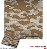 Sony PS3 Slim Skin WraptorCamo Digital Desert