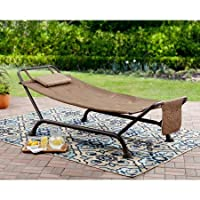 Deals on Mainstays Wentworth Deluxe Hammock with Stand