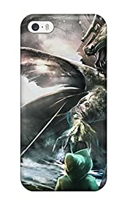 Charles C Lee Design High Quality Capturing A Dragon Cover Case With Excellent Style For Iphone 5/5s