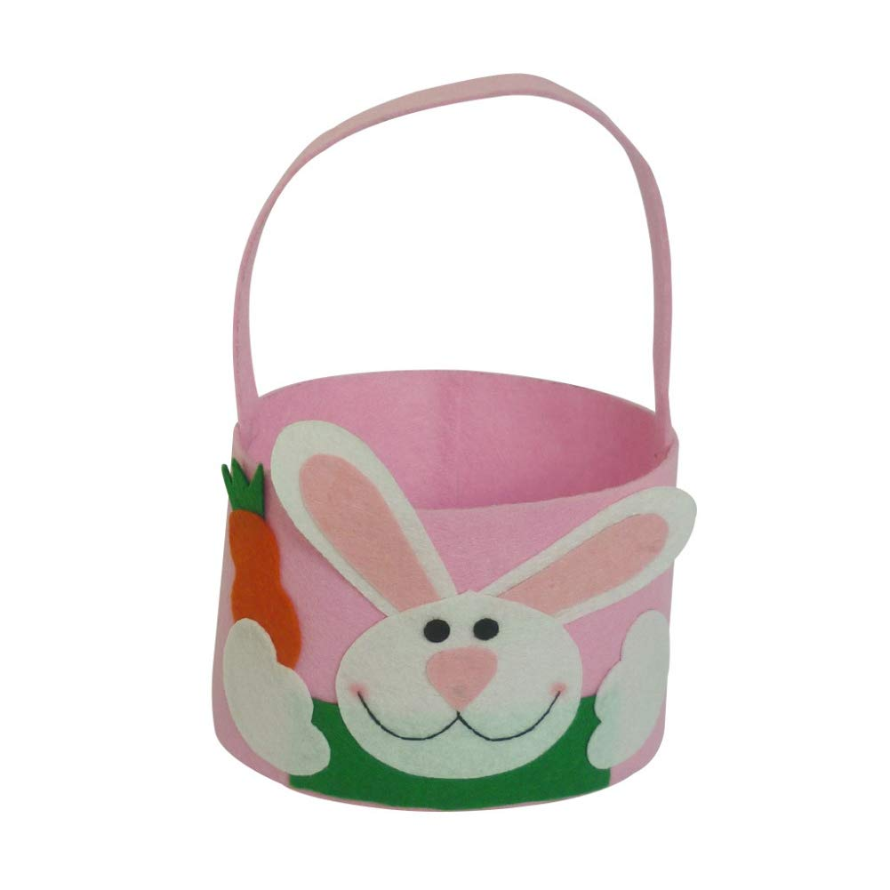 Hengzhi Easter Rabbits Pattern Sugar Pocket Lovely Children Candy Bag Portable Candy Pocket