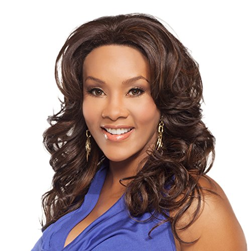 Vivica A Fox Bright-V Handmade New Futura Synthetic Fiber Hair Collection, 1B, 15.2 Ounce