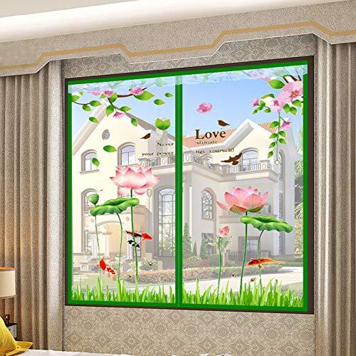 Amazon.com: Manga Home - Mosquitera magnética para ventana ...
