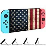 Fintie Slim Case for Nintendo Switch – [Multiple Secure Angles] Protective Flip Cover with Magnetic Kickstand [Quick Installation / Removal] [Easy for TV Mode] for Nintendo Switch – US Flag Review