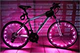 tricycle seat covers - Wheelight Super-Bright LED Bicycle Lights for Spokes and Frames (Pink)
