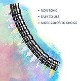 KIDDYCOLOR 40Pcs 3D Permanent Fabric Paint for