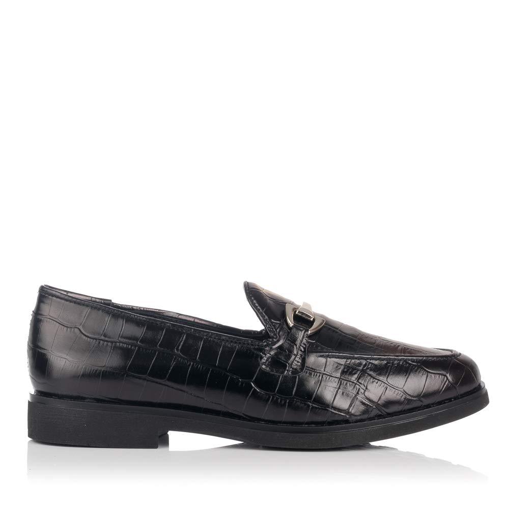 MARIA JAEN 7550 Zapato Mocasin Adorno Piel Mujer: Amazon.es: Zapatos y complementos