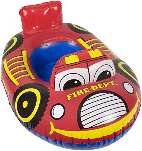 Poolmaster 05402 Fire Engine Transportation Baby Rider - Learn-To-Swim
