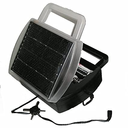 amazon com solar powered battery charger charges 4 d, c, aa and aaa