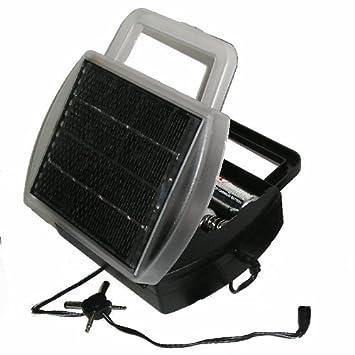 Amazon.com: Cargador solar de batería carga 4D ...