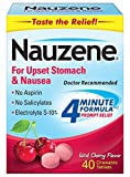 Nauzene for Nausea Relief Chewable Tablets, 40 Count