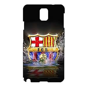 3D Barcelona Logo Phone Case for Samsung Galaxy Note 3 N9005 , Samsung Galaxy Note 3 N9005 3D FC Barcelona Logo Cover Case Primera Division De Liga Perfect Style