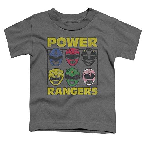 Toddler: Power Rangers - Ranger Heads Baby T-Shirt Size 4T -
