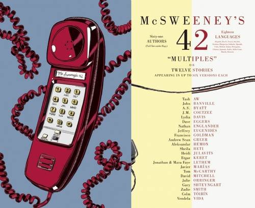 Book cover from McSweeneys Issue 42 (McSweeneys Quarterly Concern) by Andrew Sean Greer