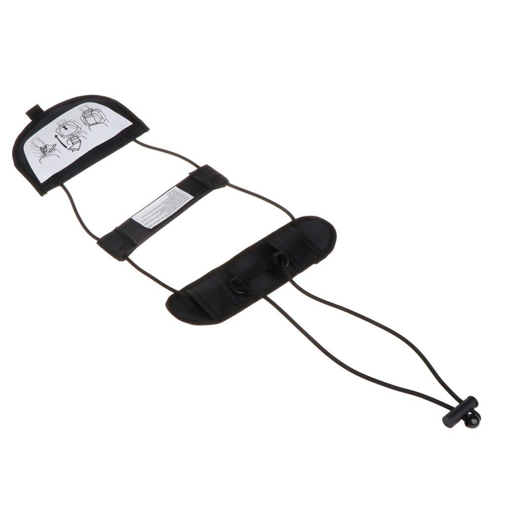 Vegan 旅行かばん スーツケース 調節可能なテープベルト バッグに追加 ストラップ バンジー   B07J1CXZHQ