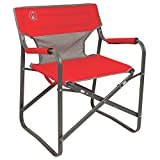 Coleman Chair Steel Deck, Red