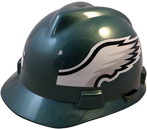 MSA NFL Ratchet Suspension Hardhats - Philadelphia Eagles Hard Hats by MSA (Image #5)