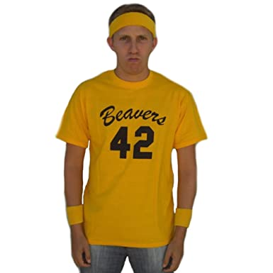 c18c65cffa Scott Howard  42 Beavers Jersey T-Shirt-Mens XL  Amazon.co.uk  Clothing